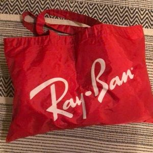 Ray -Ban oversized Tote Bag beautiful